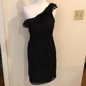 Heritage 1981 One Shoulder Black Dress - Sz SP